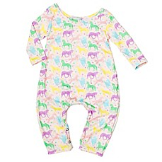 image of Pickles N' Roses™ Unicorn Long Sleeve Knit Coverall