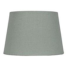 Mix U0026amp; Match Small Burlap Lamp Shade In Blue
