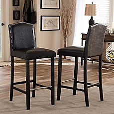 image of Baxton Studio Libra Bar Stools (Set of 2)