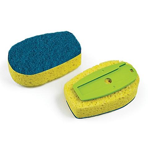 image of full circle suds up soap dispensing dish sponge refills set of 2