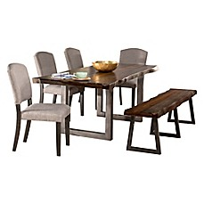 image of Hillsdale Emerson 6-Piece Rectangle Dining Set
