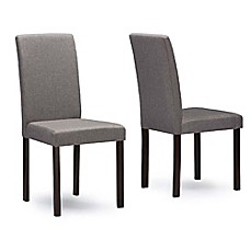 image of Baxton Studio Andrew Chairs (Set of 2)