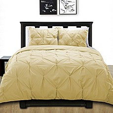 image of Cotone Pintuck Duvet Cover Set