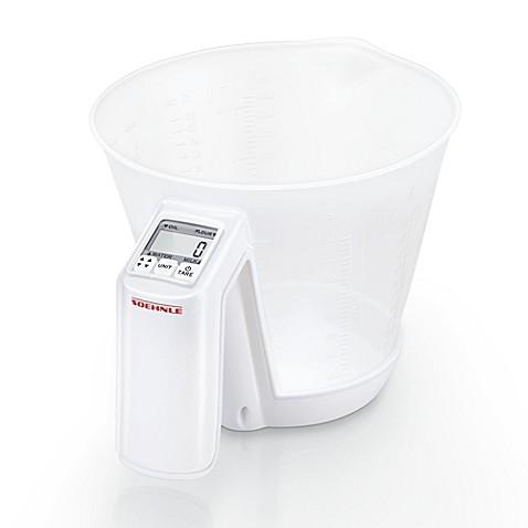 Leifheit soehnle baking star digital kitchen scale bed for Best kitchen scale for baking