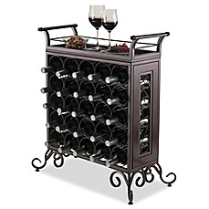 Image Of Winsome Trading Silvano 25 Bottle Wine Rack In Bronze