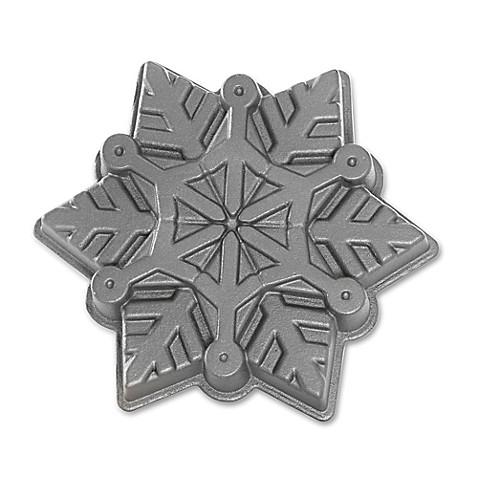 Nordic Ware 174 Snowflake Nonstick Cake Pan Bed Bath Amp Beyond