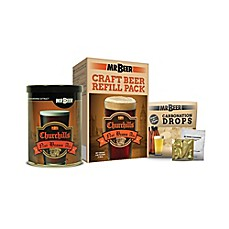 image of MR. BEER® Churchills Nut Brown Ale Refill Brew Pack