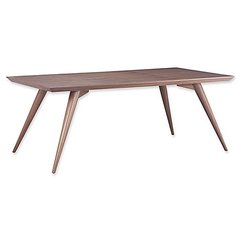 Zuo Modern Stockholm Dining Table In Walnut Bed Bath