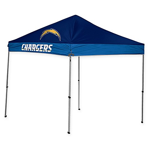 Nfl San Diego Chargers Straight Leg 9 Foot X 9 Foot Canopy