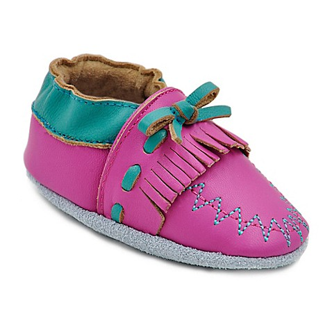 Girls Shoes Momo Baby Size 6 12M Leather Soft Sole