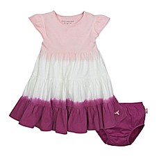 Shop clearance savings baby products baby items for sale burts bees baby 2 piece organic cotton dip dyed dress and diaper cover negle Image collections
