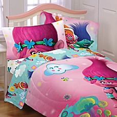 image of Trolls Hugs Sheet Set