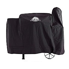 image of Pit Boss 820FB Custom-Fitted Grill Cover in Black