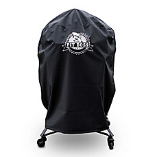 image of pit boss k22 grill cover in black
