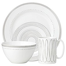 image of kate spade new york Charlotte Street™ West Dinnerware Collection in Grey