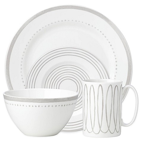 kate spade new york Charlotte Streetu0026trade; West Dinnerware Collection ...  sc 1 st  Bed Bath u0026 Beyond & kate spade new york Charlotte Street™ West Dinnerware Collection in ...