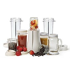 image of Tribest® PB-350XL Mason Jar Personal Blender in White