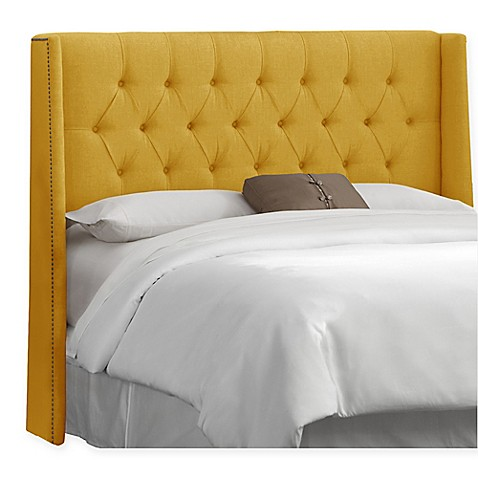 Skyline Furniture Abbie Wingback Headboard Bed Bath Beyond