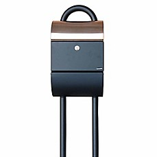 image of QualArc® Mailbox Stand for Allux Wall Mounted Mailboxes
