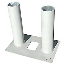 image of QualArc® Mounting Base for Allux Mail/Parcel Boxes in Stainless Steel