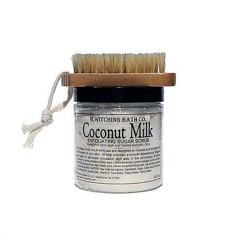 B. Witching Bath Co. Coconut Milk Sugar Scrub Gift Set ...