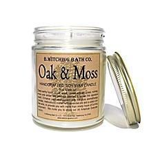 image of B. Witching Bath Co. 9 oz. Oak and Moss Candle