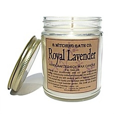 image of B. Witching Bath Co. 9 oz. Royal Lavender Candle