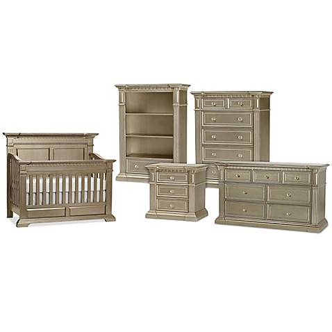Kingsley Venetian Nursery Furniture Collection In Champagne Gold