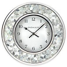 Superbe FirsTime® Arabesque Mosaic Wall Clock
