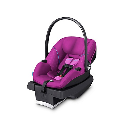 gb asana infant car seat in posh pink with load leg base bed bath beyond. Black Bedroom Furniture Sets. Home Design Ideas