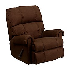 image of Flash Furniture Flatsuede Recliner  sc 1 st  Bed Bath u0026 Beyond & Recliners u0026 Chairs - Metal Plastic Wood Chairs and more - Bed ... islam-shia.org