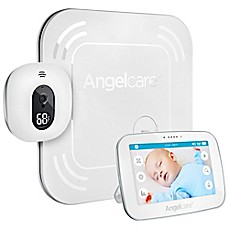 image of Angelcare® 5-Inch AC517 Baby Movement Monitor with Wireless Sensor Pad