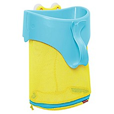image of SKIP*HOP® Moby Scoop and Splash Bath Toy Organizer