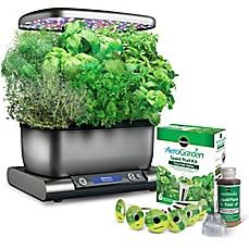 image of Miracle-Gro® AeroGarden™ Harvest Plus with Seed Kit in Grey