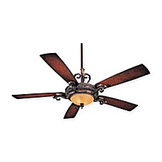 image of Minka-Aire® Napoli™ 56-Inch Ceiling Fan with Sterling Walnut Finish