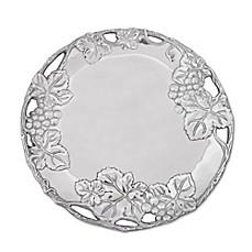Arthur Court Designs Grape Round Aluminum Plate  sc 1 st  Bed Bath \u0026 Beyond & grape design dinnerware | Bed Bath \u0026 Beyond