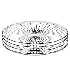 Lorren Home Trends Sunbeam 10-Inch Crystal Dinner Plates (Set of 4)  sc 1 st  Bed Bath \u0026 Beyond & crystal dinner plates | Bed Bath \u0026 Beyond