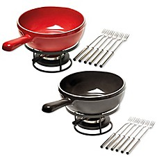 image of Emile Henry 8-Piece Fondue Set