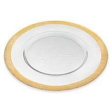 image of Badash Glamour Charger Plate in Gold