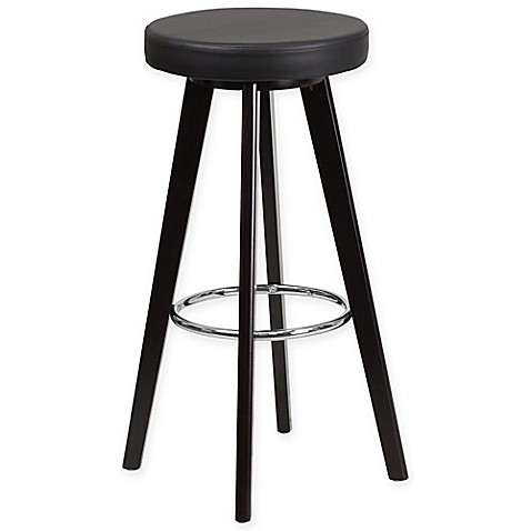Buy Flash Furniture Trenton 30 Inch Barstool In Cappuccino