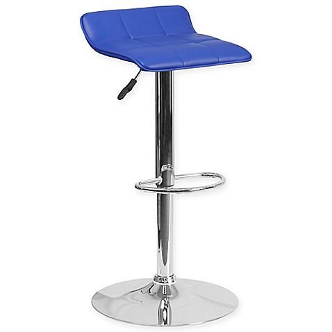 Buy Flash Furniture Vinyl Adjustable 23 1 4 Inch Bar Stool