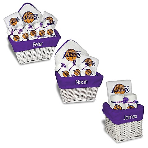 Designs by chad and jake nba personalized los angeles lakers gift designs by chad and jake nba personalized los angeles lakers gift basket in white negle Choice Image