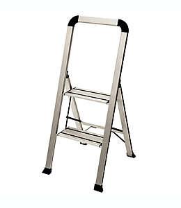 Escalera ultra delgada Ascent Designer Series®, con 2 escalones en plata