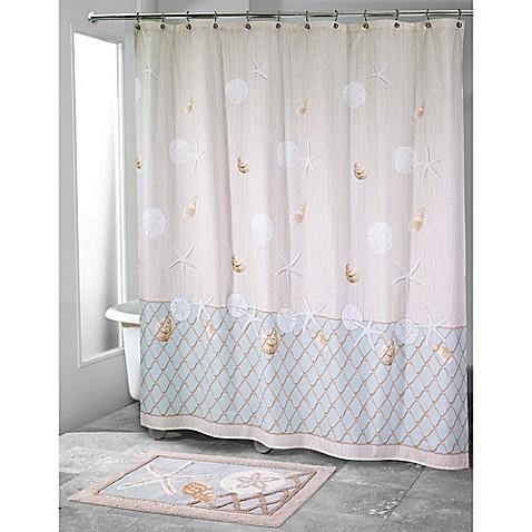 avanti sea glass shower curtain bed bath amp beyond hookless shower curtains bed bath and beyond curtain