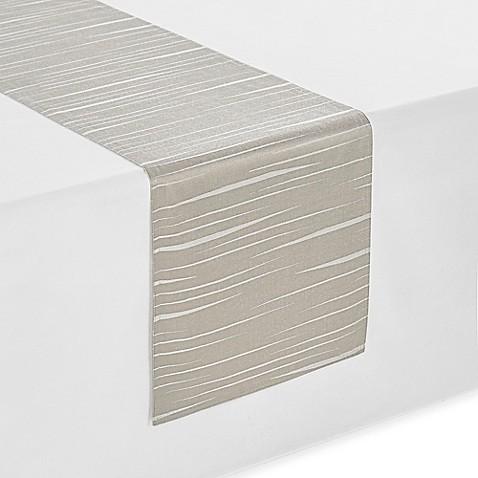 Waterfordu0026reg; Essentials Linea Table Runner In Taupe