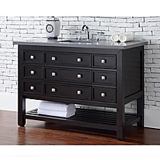 James Martin Furniture Vancouver 48 Inch Single Vanity In Espresso/Grey