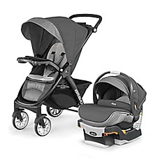 image of Chicco® Bravo® LE Trio Travel System in Silhouette