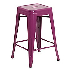 image of Flash Furniture Backless Indoor-Outdoor Stool