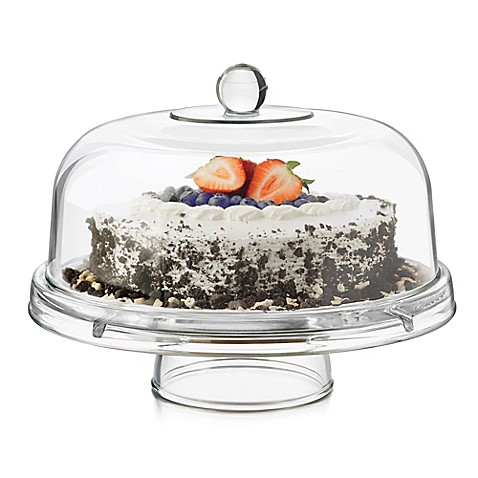 Dailyware\u0026trade; Glass 6-in-1 Footed Cake Dome  sc 1 st  Bed Bath \u0026 Beyond : square cake plate with dome - pezcame.com