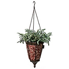 image of Bombay® Outdoor Naya Hanging Fabric Planter